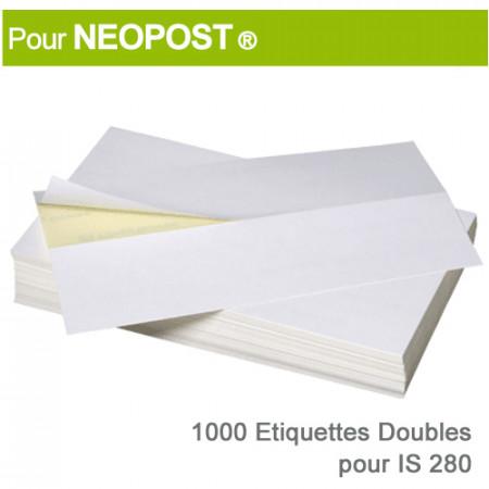 Etiquettes Doubles pour Neopost ® IS 280