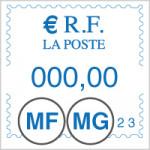 Type Postal Pitney Bowes ® DM 210-390i